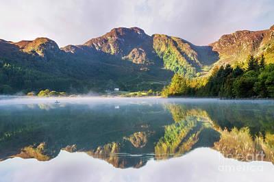 Photograph - Misty Dawn Lake by Ian Mitchell