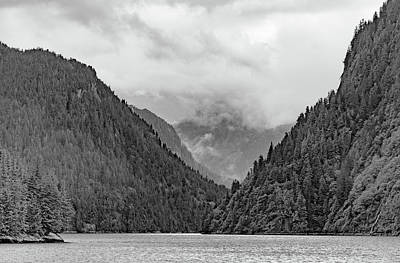 Photograph - Misty Fjord by Peter J Sucy