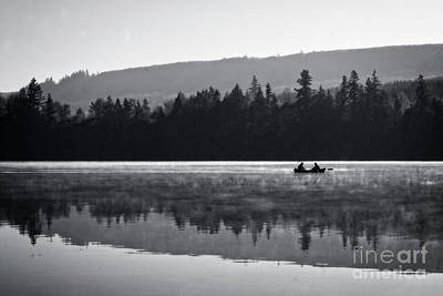Photograph - Misty Morning Fishing by Jim And Emily Bush