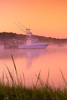 Misty Morning Osterville Cape Cod Art Print by Matt Suess