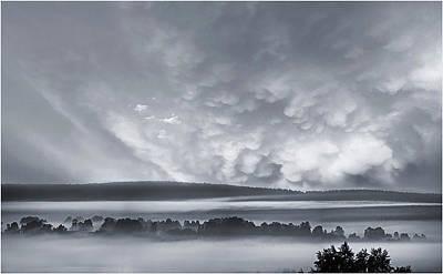 Photograph - Misty Morning by Vladimir Kholostykh