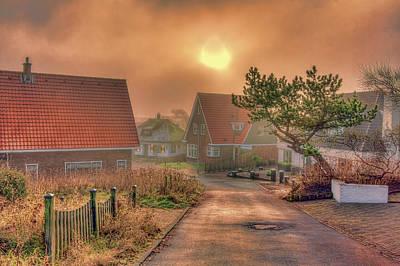 Photograph - Misty Sunrise by Nadia Sanowar