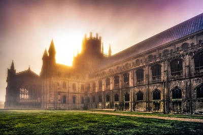 Photograph - Misty Sunrise Over The Octagon by James Billings