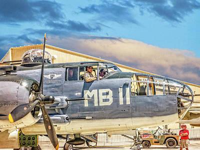 Photograph - Marine Mitchell B-25 Pbj  by Sandra Selle Rodriguez