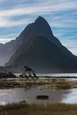 Photograph - Mitre Peak / Rahotu by Gary Eason