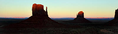 Photograph - Mittens At Sunset In Monument Valley by Pierre Leclerc Photography