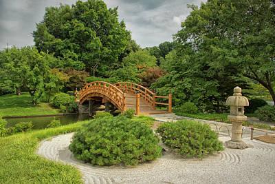 Photograph - Mo Bot Garden Taikobashi Bridge Dsc06964  by Greg Kluempers