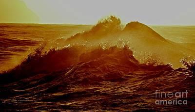 Seascape Photograph - Moana Nalu Collection  #12 by Debra Banks