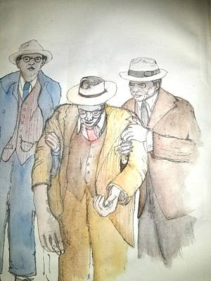 Painting - Mobs Prohibition Immigrants  Album by Debbi Saccomanno Chan