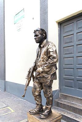 Digital Art - Mock Military Street Performers by Carol Ailles