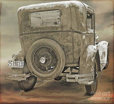Photograph - Model A by John Anderson