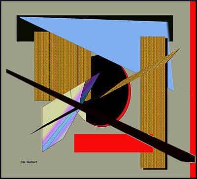 Digital Art - Modern 45 by Iris Gelbart