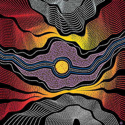 Painting - Modern Aboriginal 2 by Gary Grayson