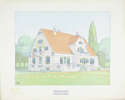 Design For Architects Painting - Modern Designs by Joseph Gradl