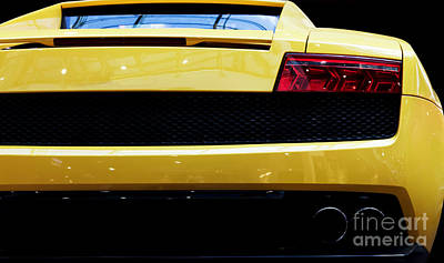 Fast Photograph - Modern Fast Car Close-up Background by Michal Bednarek