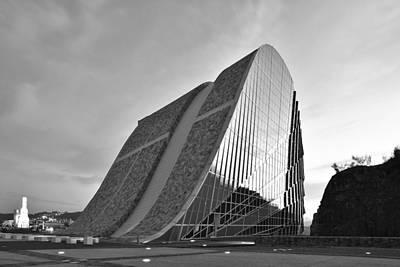 Photograph - Modern Gaias Center Museum by Marek Stepan