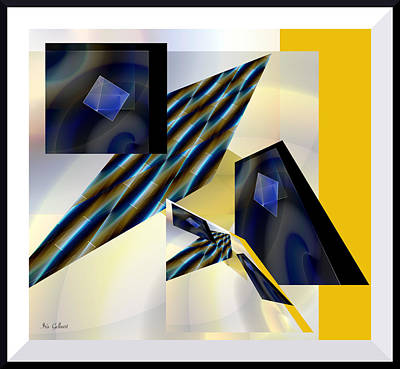 Digital Art - Modern Moments by Iris Gelbart