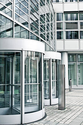 Sector Photograph - Modern Office Building by Tom Gowanlock