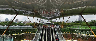 Photograph - Modern Subway Station Design In Taiwan by Yali Shi