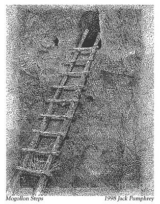 Painting - Mogollon Steps by Jack Pumphrey