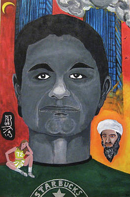 Mohamed Atta Art Print by Darren Stein