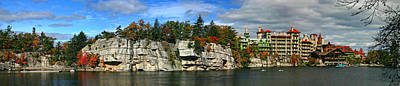 New Paltz Photograph - Mohonk Mountain House by June Marie Sobrito