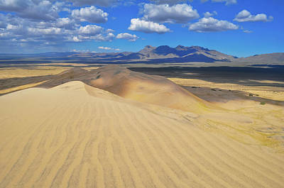 Photograph - Mojave Kelso Dunes Landscape by Kyle Hanson