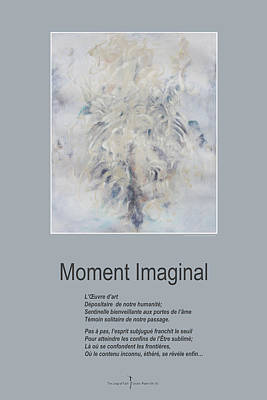 Mixed Media - Moment Imaginal by Nicole Lemelin