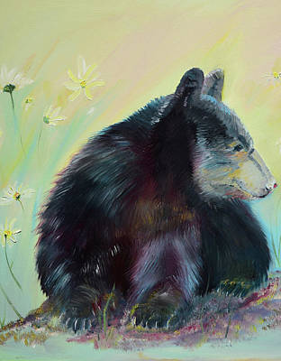 Painting - Momma Bear  by Jan Dappen