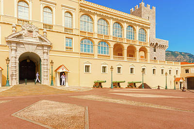 Photograph - Monaco The Prince's Palace by Marek Poplawski