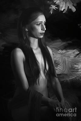 Photograph - Monalisa by Kiran Joshi