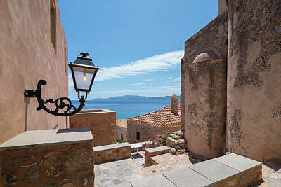 Photograph - Monemvasia / Greece by Stavros Argyropoulos