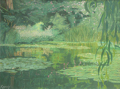 Monet's Lament Art Print