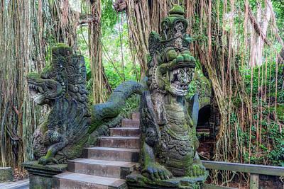Monkey Forest Ubud - Bali Art Print by Joana Kruse