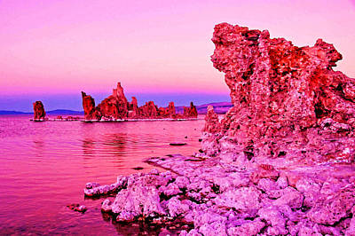 Mono Lake Dawn Art Print by Dennis Cox