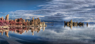 Photograph - Mono Lake by Stephen Campbell