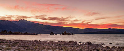 Pop Art - Mono Lake sunset by Javier Flores