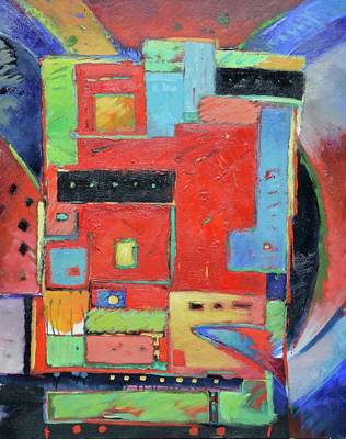 Abstract Painting - Monolith by Gary Coleman