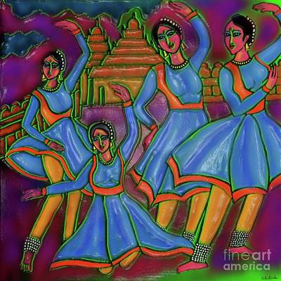 Digital Art - Monsoon Ragas by Latha Gokuldas Panicker
