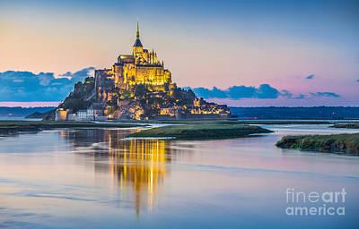 Photograph - Mont Saint Michel by JR Photography