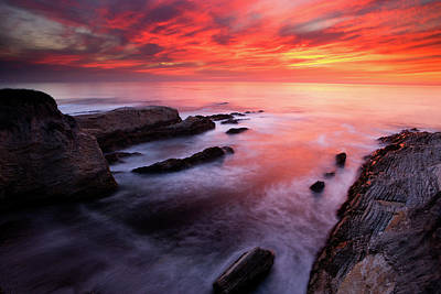 Photograph - Montana De Oro Sunset by Eric Foltz