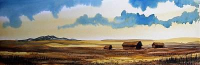 Montana Landscape Art Print by Kevin Heaney