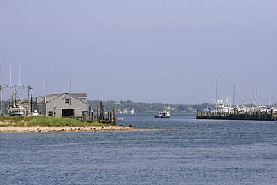 Photograph - Montauk Harbor by Christopher Kirby