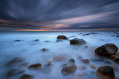 Atlantic Ocean Photograph - Montauk Mist by Rick Berk