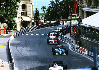 Photograph - Monte Carlo Casino Corner by John Bowers