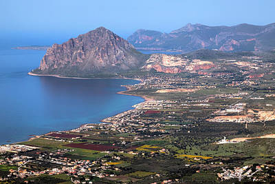 Erice Photograph - Monte Cofano - Sicily by Joana Kruse