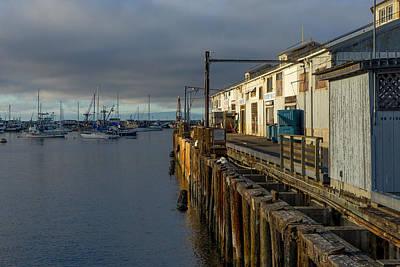 Photograph - Monterey Commercial Wharf by Derek Dean