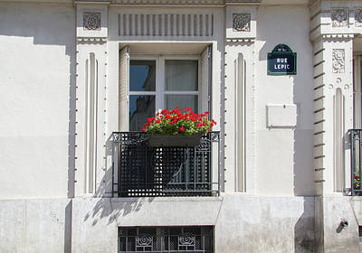 Digital Art - Montmarte Paris by Carol Ailles