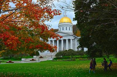 Photograph - Montpelier Vermont by Tana Reiff
