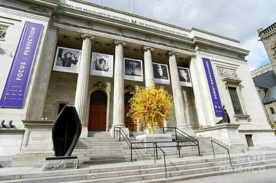 Photograph - Montreal Museum Of Fine Arts by John  Mitchell